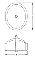 Dimensional Drawing for Inspection Ports